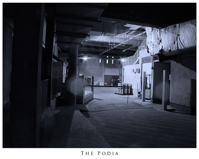 Art Podia | Photo taken under the podia. Original image ...