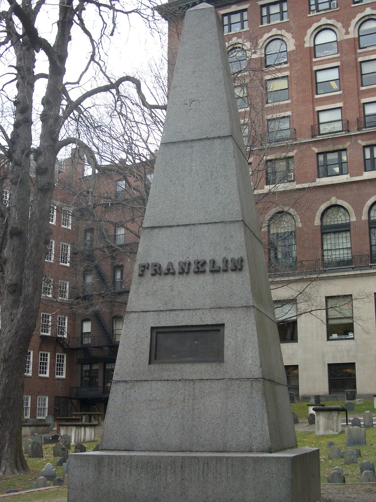 Ben Franklin S Parent S Grave Tomb For Josiah Franklin