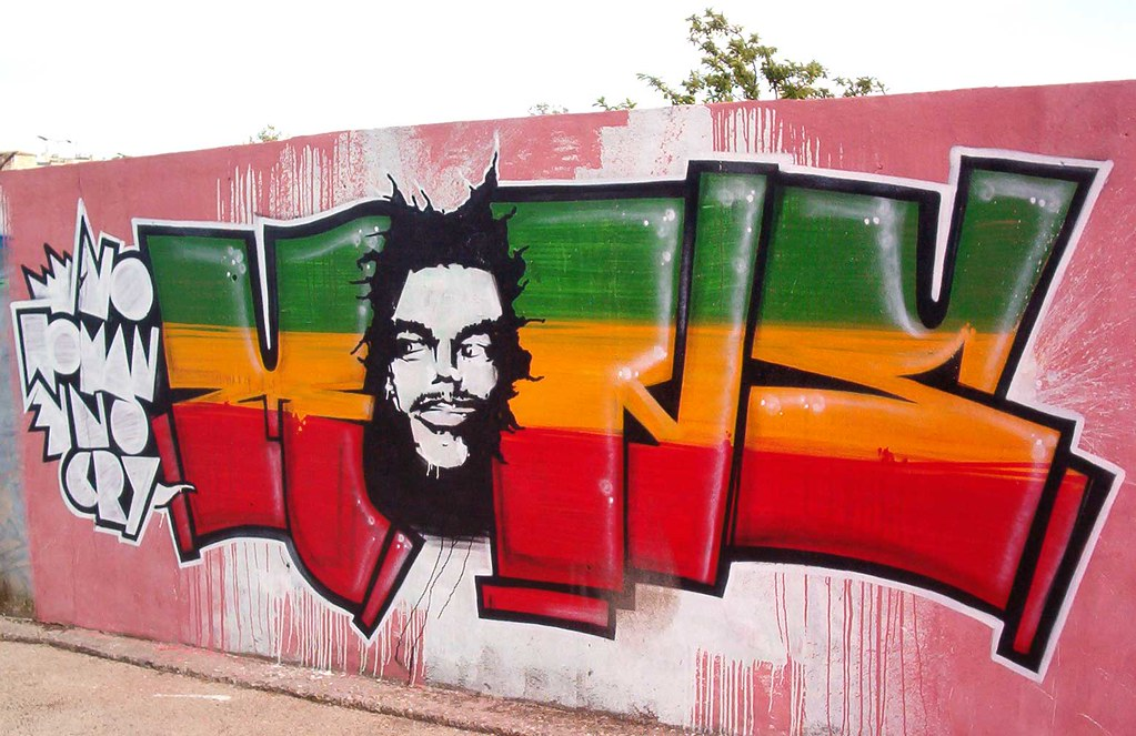 """Mons"" Rasta Graffiti, Rego Station, Lisboa | Manuel ..."
