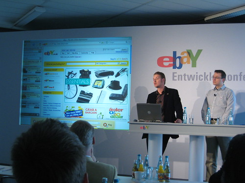 press conference for ebay companion for firefox in munich. Black Bedroom Furniture Sets. Home Design Ideas