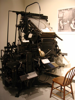 linotype machine | by emmajanehw