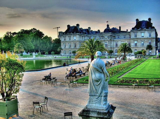 Une soir e dans les jardins du luxembourg an evening in flickr - Comment aller au jardin du luxembourg ...