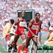 Public Domain: 4 x 400 Relay at the Summer Olympics by Ken Hackman, August 1984  (DOD DD-SC-85-09738)
