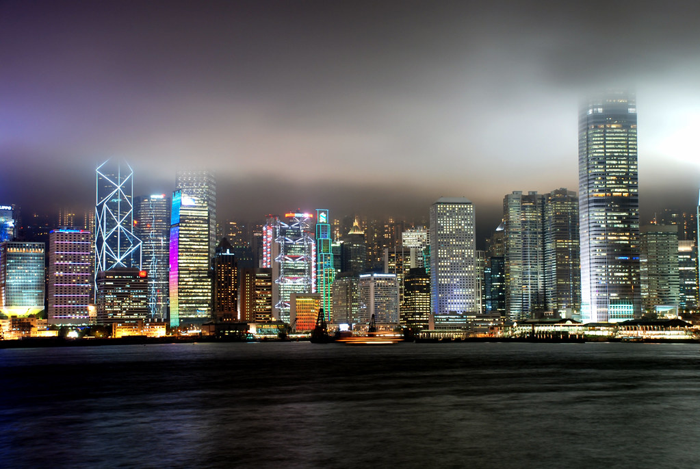 Hong Kong Skyline Dan Law Flickr