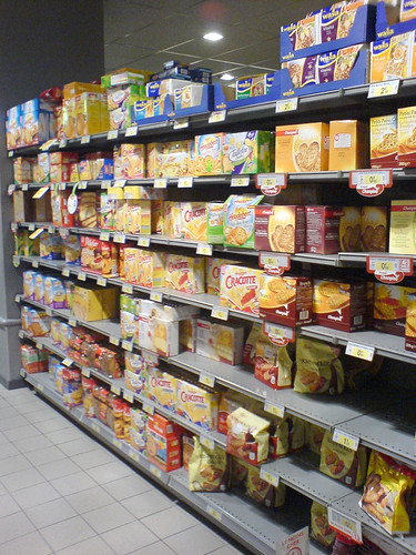 A tour of my grocery store: Crackers Aisle | by clotilde
