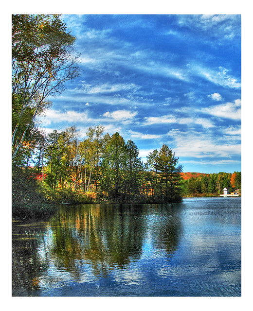 Lake St. Peter Pan/HDR | Composed of 6 images, blended ...