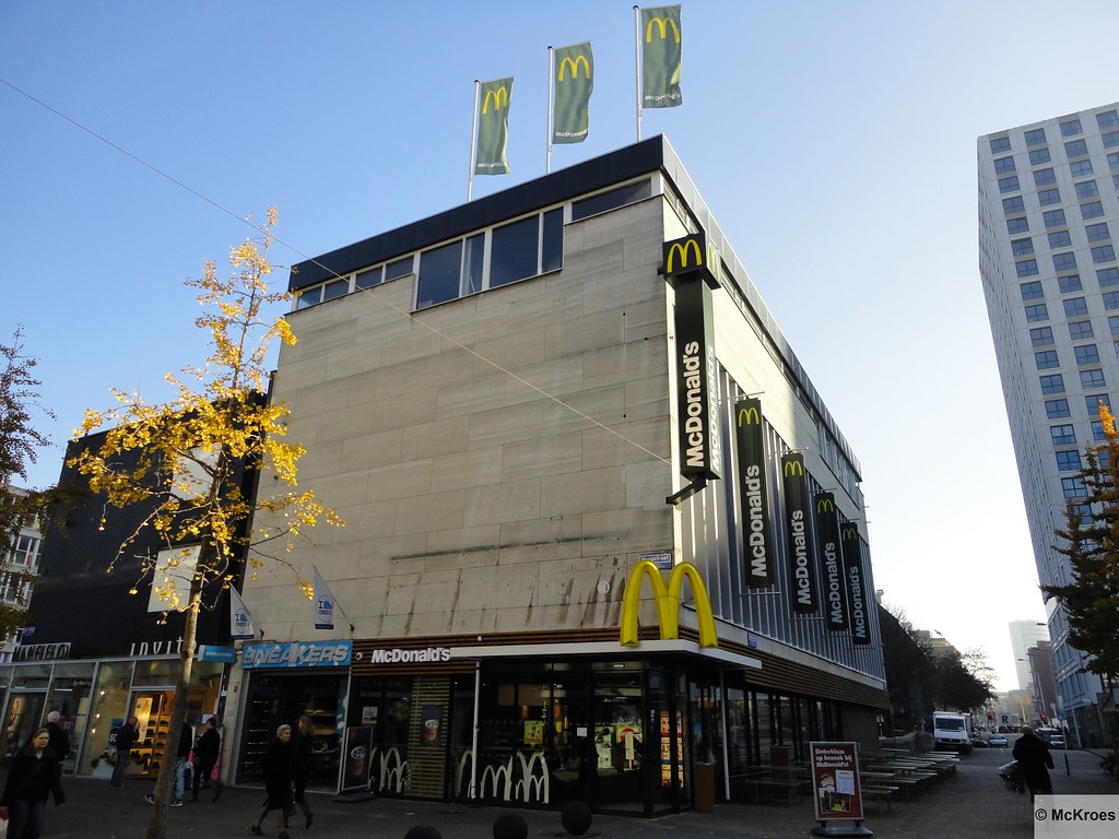 mcdonald u0026 39 s rotterdam hoogstraat 194  the netherlands