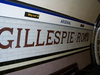 Gillespie Road Wall Sign | by Bods