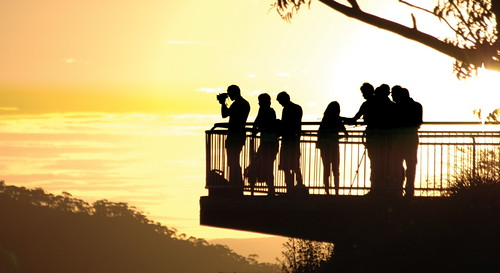 Photographers in the sunset | by ShirleyGrant