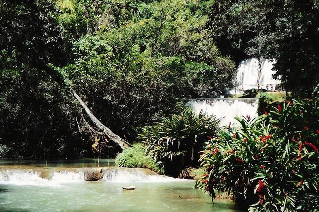 YK Waterfalls (3)   Jamaica, 1994. © Jurgen Proschinger, all ...