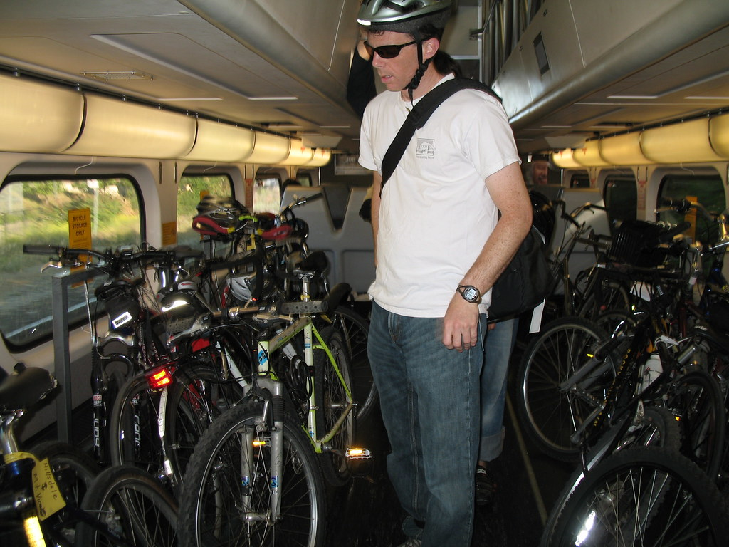 Full Bike Car The Bike Car On Caltrain 225 Is Packed