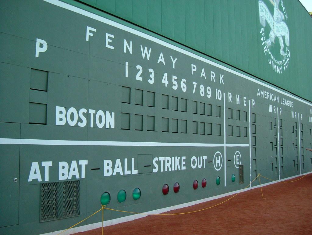 The Green Monster Fenway Scoreboard The Green Monster