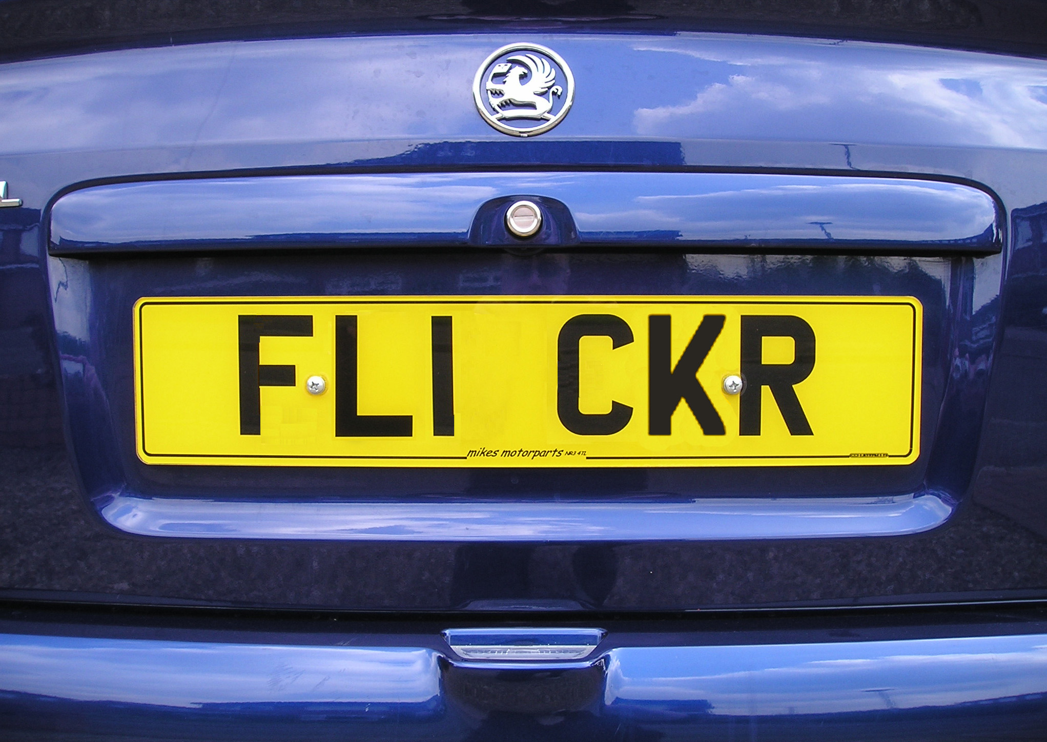 Cheap car number plates