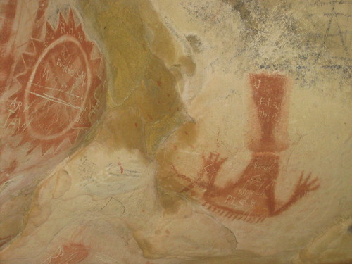 Chumash cave painting | by Gyrus