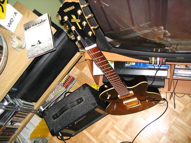Aex Yamaha Guitar
