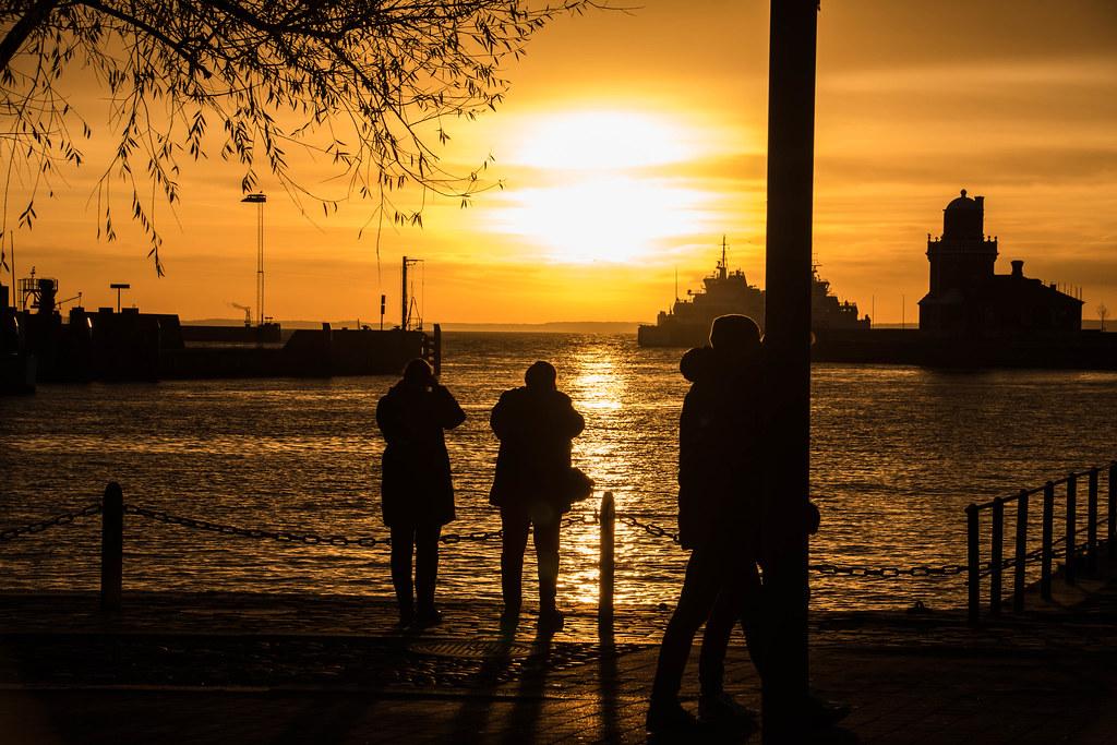 City Sunset Helsingborg Sweden Maria Eklind Flickr