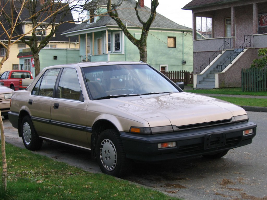 1989 honda accord lx sold 210 000kms runs great no. Black Bedroom Furniture Sets. Home Design Ideas