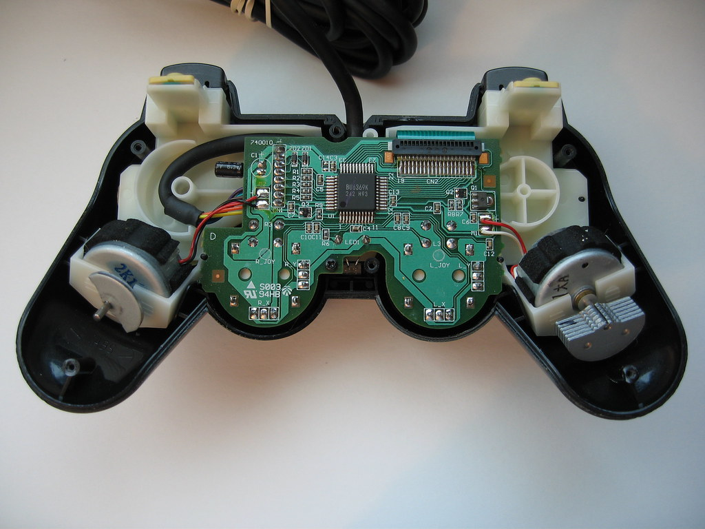 Original Xbox Wiring Diagram Not Lossing Playstation 2 Controller Disassembly Flickr One Headset