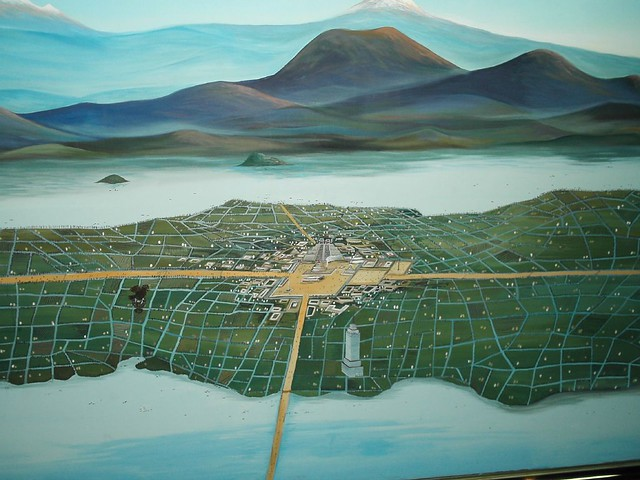 Mexico City back in the day... Tenochtitlan | A city built ...