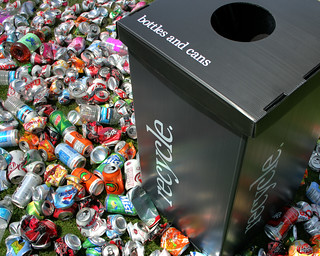 Recycle Bottles and Cans AD (HDR) | by kingdesmond1337