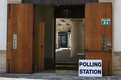 Drive through Polling Station! | by MarilynJane