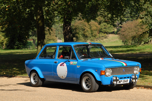 Fiat 128 Rally Version 3 1301cc Sohc Engine With A High