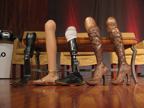 H2.0 - Aimee Mullins' leg collection | by curiouslee