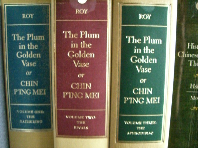 The Plum In The Golden Vase Or Chin Ping Mei Three Vol Flickr