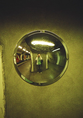 London Underground Mirror Mirror At Warren Street Tube