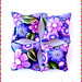 """Violet Illusion"" pillow beads"