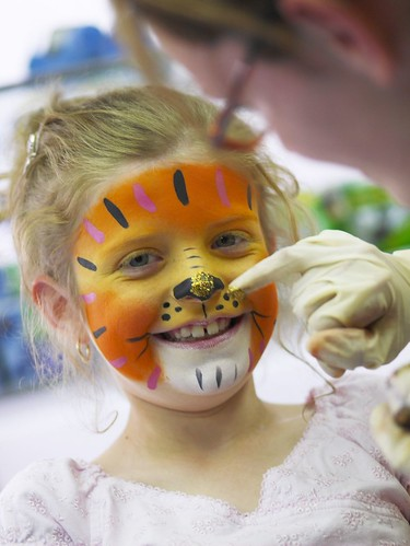 Face Painting With Message