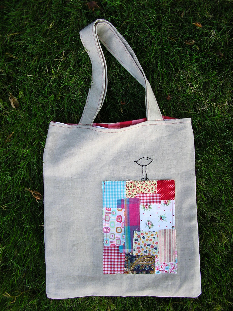 Handmade bag veronica tm sent me this beautiful bag that - Manualidades patchwork bolsos ...