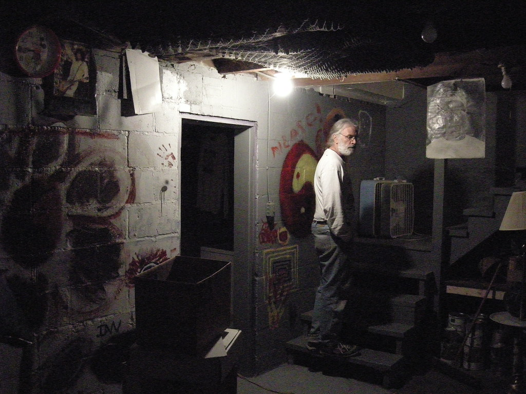 Scary Basement Fran In The Basement Ian Duerr Flickr