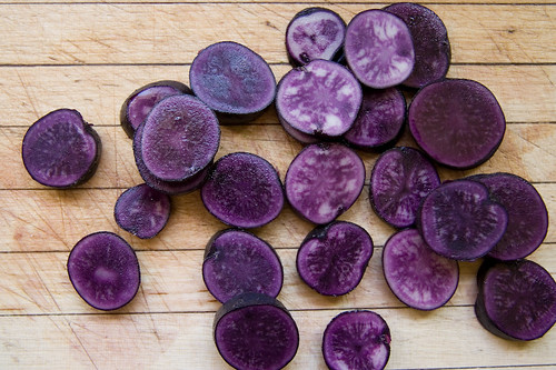 Purple Peruvian potatoes | by chez pim