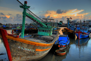 Fishing Boat in Phan Thiet | by Lucas Jans