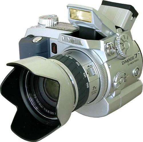 minolta dimage 7 the first consumer oriented 5 megapixel c flickr rh flickr com Minolta DiMAGE Z6 Minolta DiMAGE Scan Dual