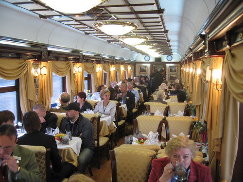 Golden Eagle Trans Siberian Express Carriage Interior