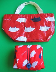 "Insulated ""Schwein"" lunch cloth and bag 
