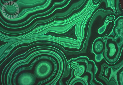 Malachite's Concentric Swirls | SI Neg. 78-19159. Date ...