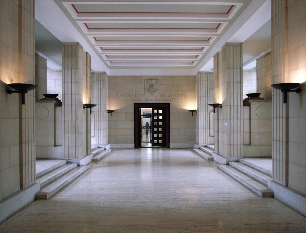 Mansion Foyer University : Senate house entrance hall university of