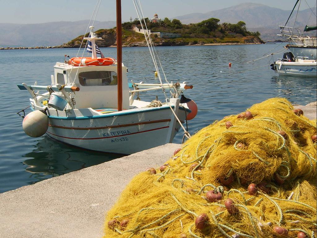 Oinousses, buureilandje van Chios