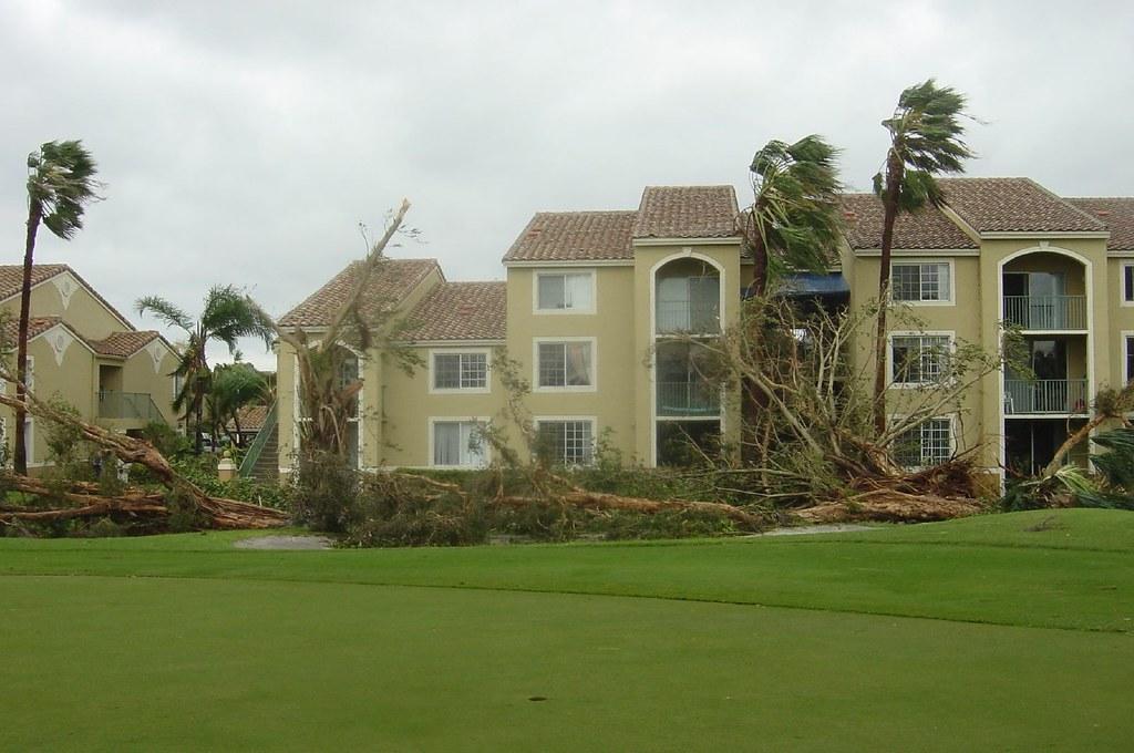Hurricane Wilma Damage Pompano Beach Palm Aire