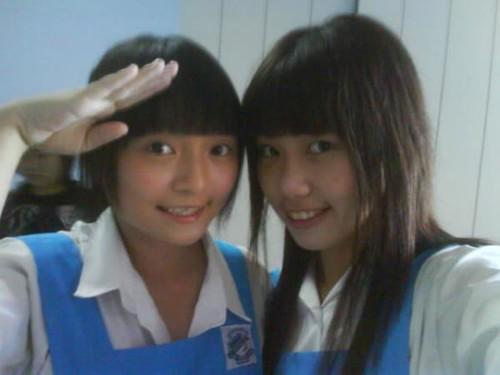 Cute   Malaysian High School Uniform  Malaysia School -9360