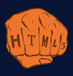 HTML5 fist, after A List Apart | by justinsomnia
