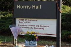 Memorials at Norris Hall | by PaulTrum