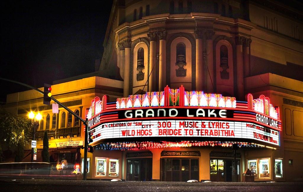 Grand Lake Theater Of Dreams Grand Lake Theater Oakland