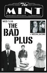bad plus meg flyer | by The Roxy Theatre