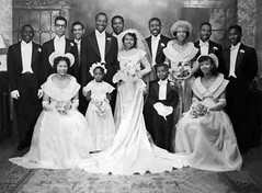 Vintage: 1950s:Great Aunt Thelma's wedding photo | by Tootallval