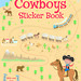 cowboy sticker book