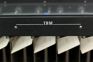 IBM punch card reader | by Joi